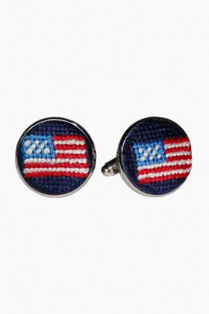 American Flag Cufflinks This item is excluded from our GOWILD sale