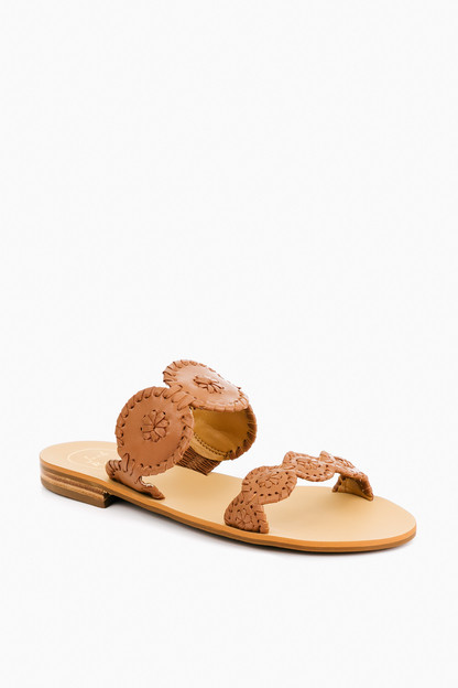 Cognac Lauren Sandals