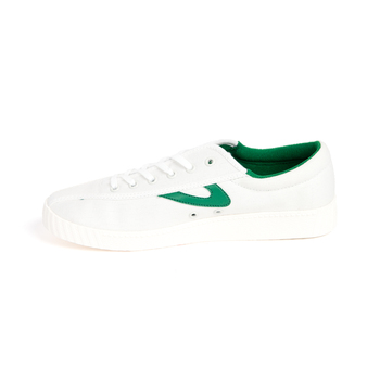 women's green nylite canvas sneakers