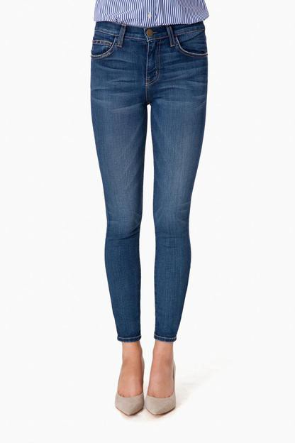 the high waist stiletto skinny jean in townie