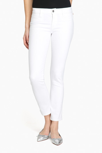 white paris jeans