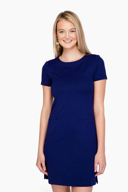 admiral blue carter dress