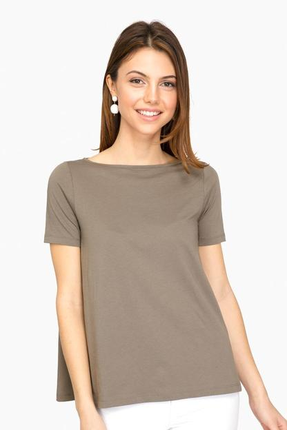 artichoke sonora flowy short sleeved top