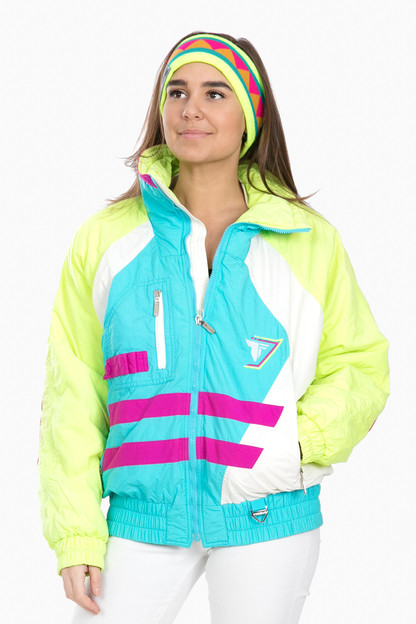 turquoise tryolia flash jacket