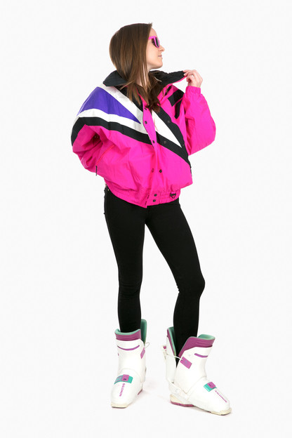 pink tryolia mountain groove jacket