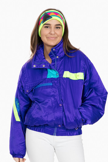 purple obermeye windshear jacket