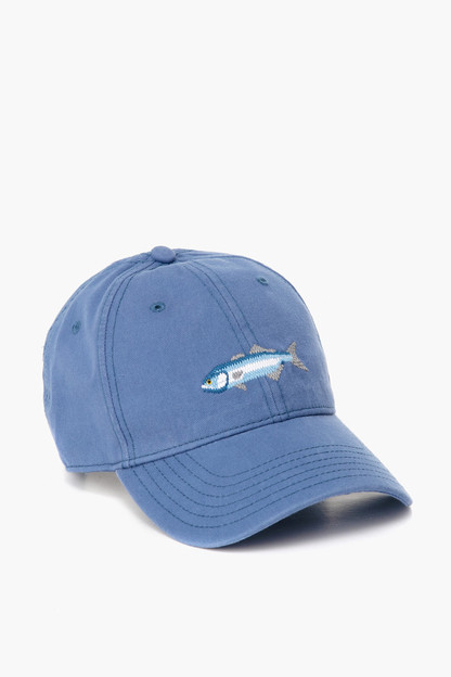 slate blue bluefish hat