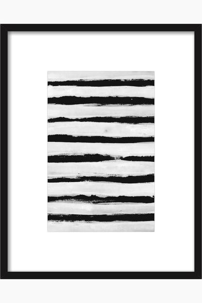 black and white stripe by georgiana paraschiv