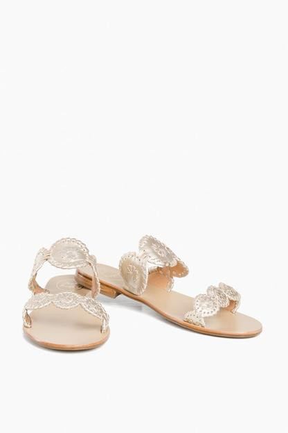 platinum lauren sandals