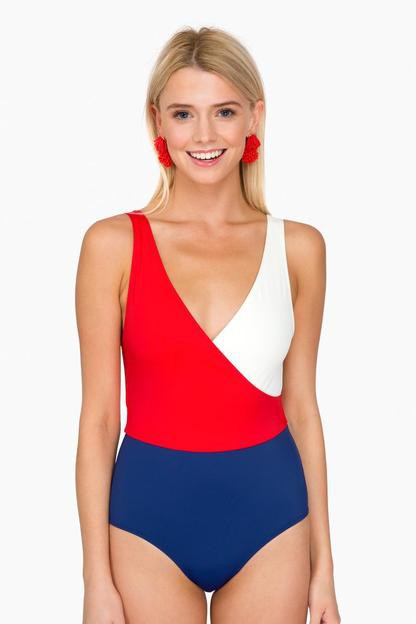 firecracker ballerina one-piece