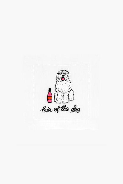 hair of the dog cocktail napkins (set of 4)