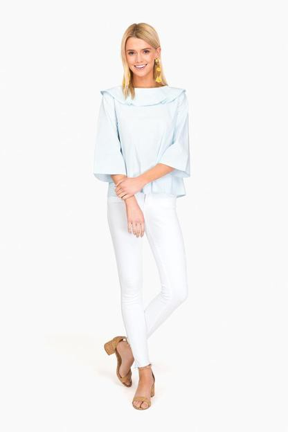 chandler bow blouse