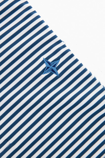 exclusive midnight competition striped polo