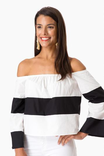 malin off the shoulder blouse