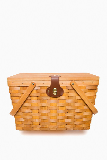 aegean frisco picnic basket for two