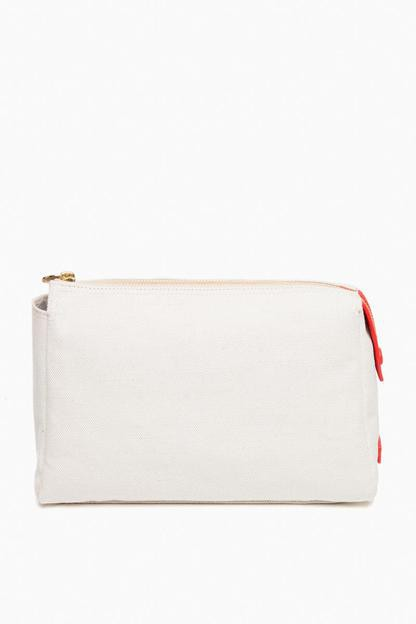no. 32 scarlet large pouch