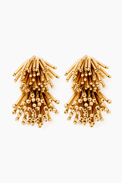 Gold Fireworks Earrings