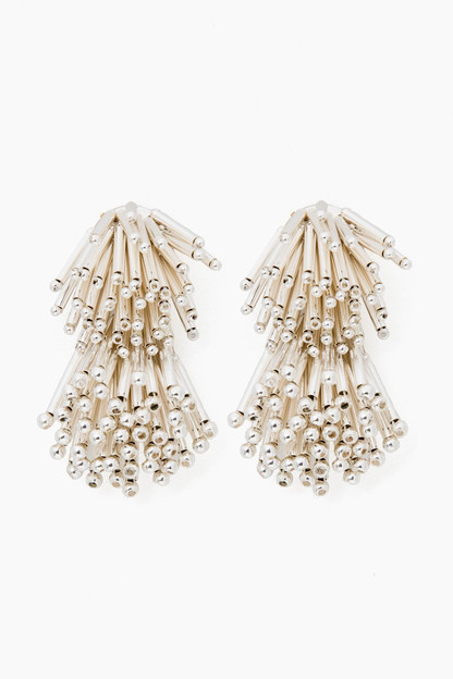 Silver Fireworks Earrings