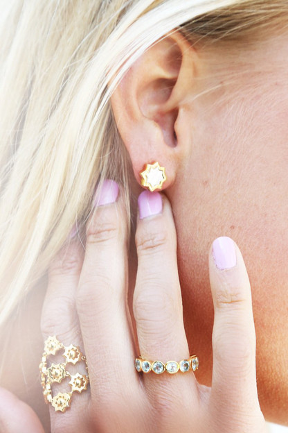kismet stud earrings