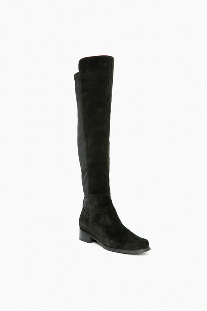 black suede waterproof velma boots