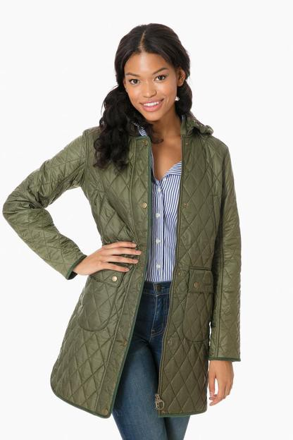 Barbour Olive Tarn Quilt Jacket This item is excluded from our GOWILD sale