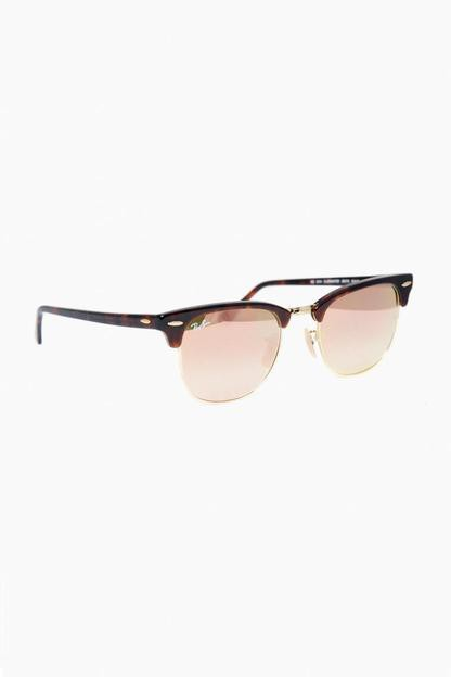 Clubmaster Flash Lens Gradient Sunglasses