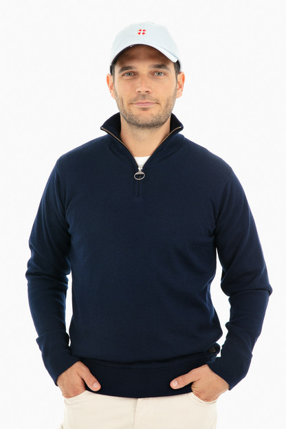 Gamlin Half Zip Sweater