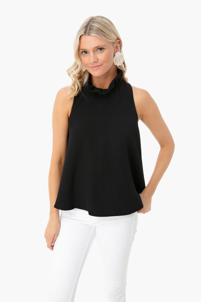 black mason blouse