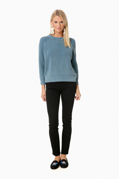 blue chelsea sweater