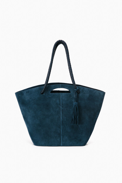 suede the market tote