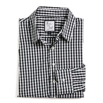 essential gingham button down