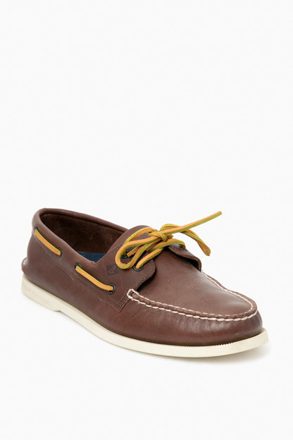 Men's Classic Brown Authentic Original 2-Eye Boat Shoe Take up to 30% off with code BIGSALE.