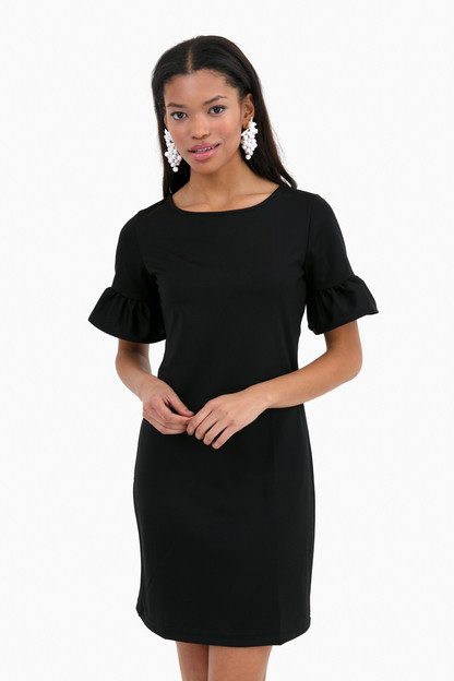 Black Dockside Dress Take an extra 30% off with code: HOORAY