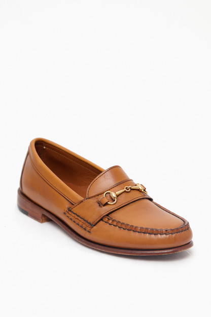 women's amber burnished horsebit loafers