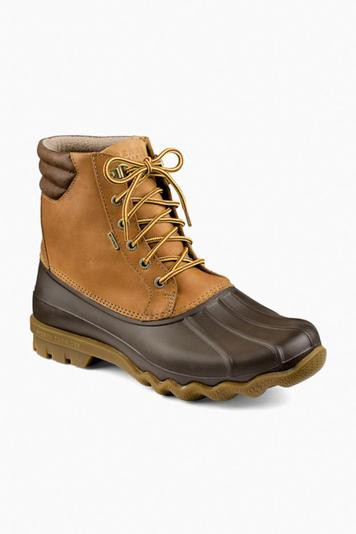 tan avenue duck boot