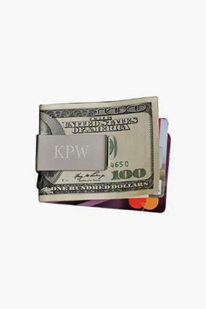 personalized no-slip money clip
