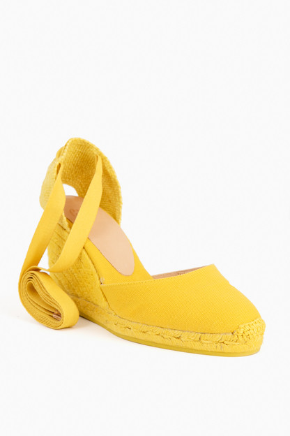 amarillo claro carina wedge