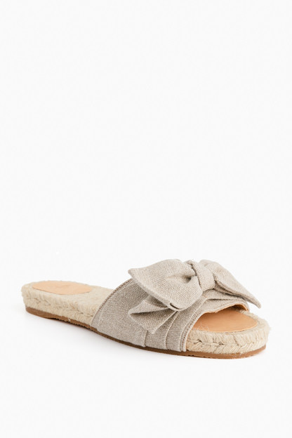 natural poleo sandal