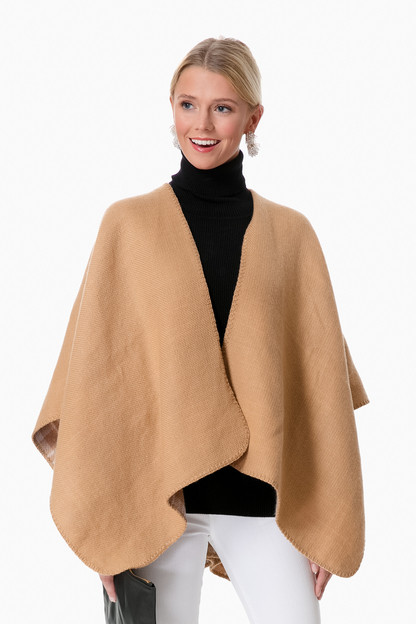 Exclusive Tenley Double Sided Poncho