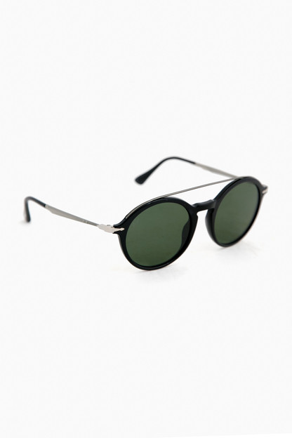 black pilot persol sunglasses