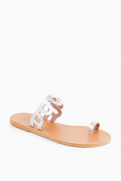 Metal Silver Venus Sandals Take an extra 30% off with code EXTRA30