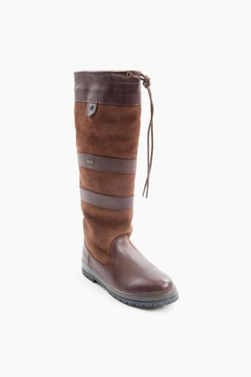 walnut galway boots