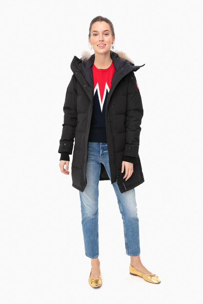 black shelburne parka
