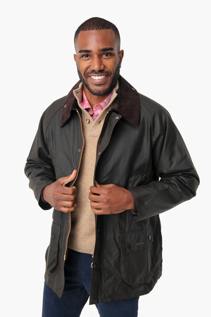 Mens Classic Bedale Wax Jacket Allow 14-21 days for monogram products to ship. Your entire order will ship together once completed.