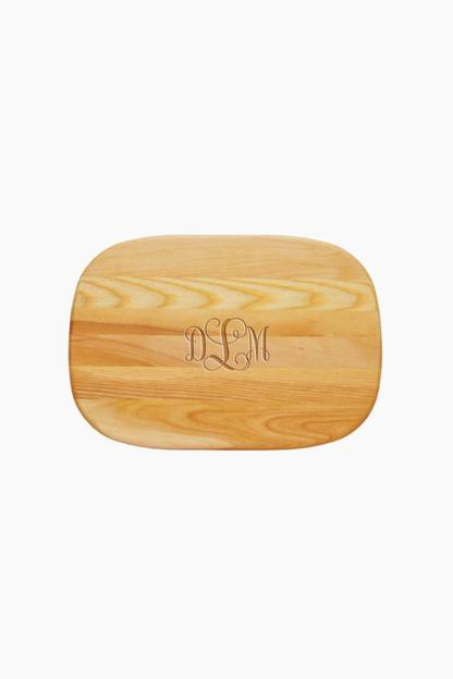 Small Everyday Monogrammed Cutting Board