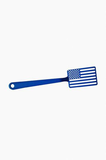 blue star spangled spatula