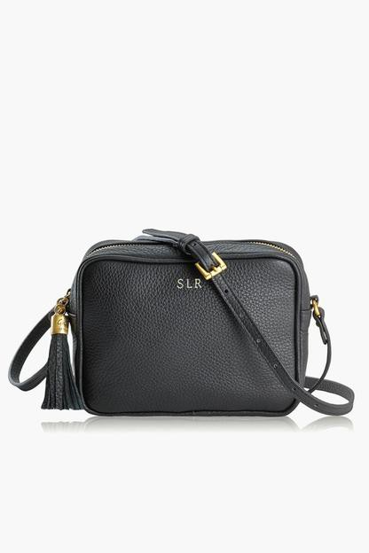 Black Pebble Leather Madison Crossbody This item ships directly from the vendor within 14 business days. Expedited shipping is not available.