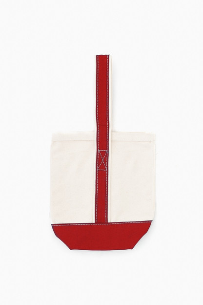 blank red wine tote