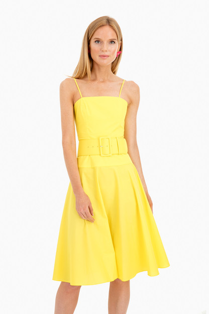 yellow carter dress