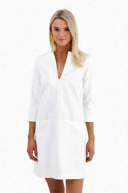 White Mod Dress Take an extra 30% off with code EXTRA30